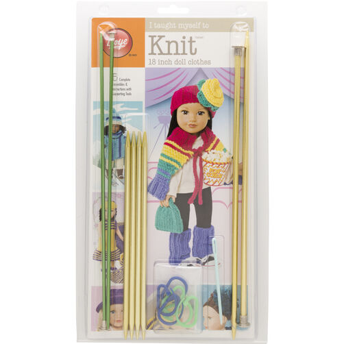 "Boye I Taught Myself To Knit Kit: 18"" Doll Clothes"