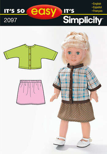 It's So Easy Doll Clothes