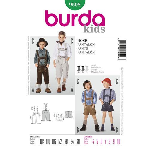 Burda Style Pattern 9508 Pants