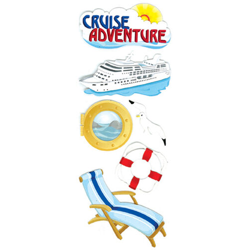 Cruise Adventure Stickers_50-10007