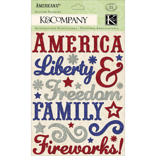 Americana Word Glitter Stickers_30-614192