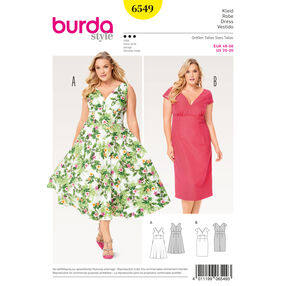 Burda Style Pattern B6549 Women's Short Sleeve Dress
