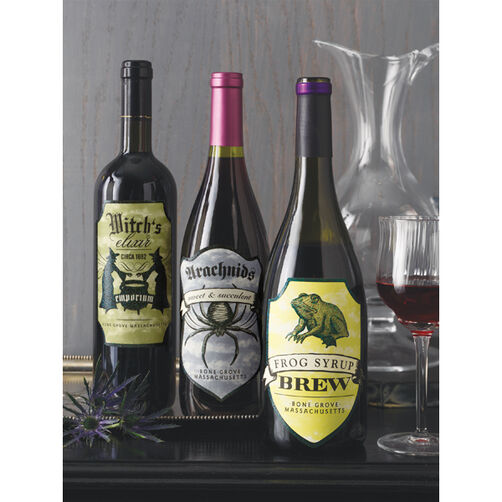 Elegant Witch Wine Labels_48-20005