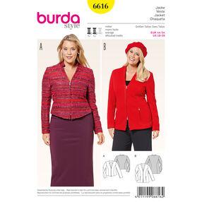 Burda Style Pattern 6616 Jacket