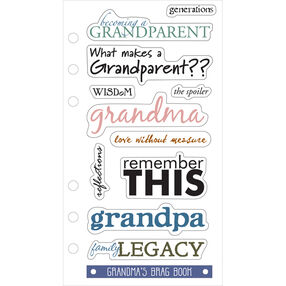 Phrases--becoming A Grandparent_SPPCC54