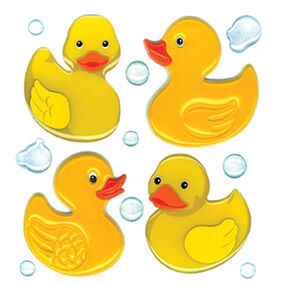 Cute Rubber Duckies Stickers_50-20276