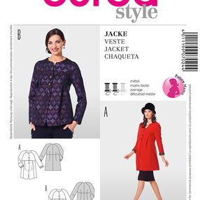 Burda Style Pattern 7024 Jacket