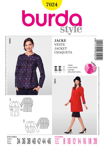 Burda Style Jacket
