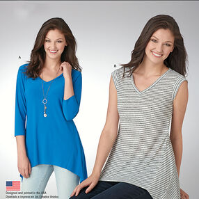 Misses' It's So Easy Knit Tops