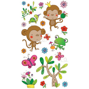 Funky Monkey Stickers_52-01205