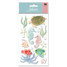 Vellum Sea Horses Stickers_VELJLG006