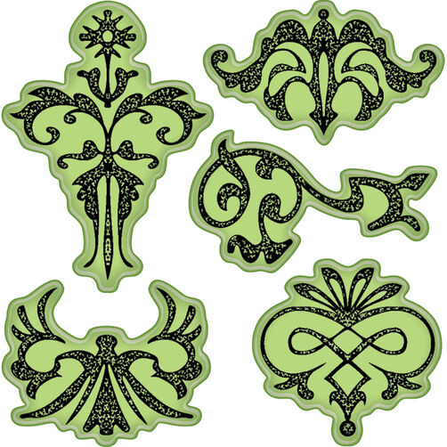Ornaments Cling Stamps_65-32001