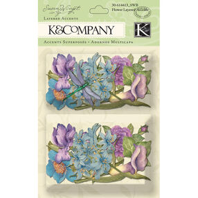 Susan Winget Botanical Flower Layered Accents_30-614413