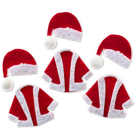 Christmas Santa Hats and Coats Embellishments_50-00617
