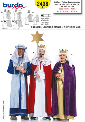 Burda Style, 3  Holy Kings