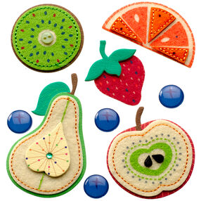 Stitched Fruits Stickers_50-21298
