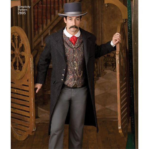 Pattern For Men Costumes Simplicity