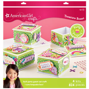 Decorated Treasure Box Party Activity Kit_30-629127