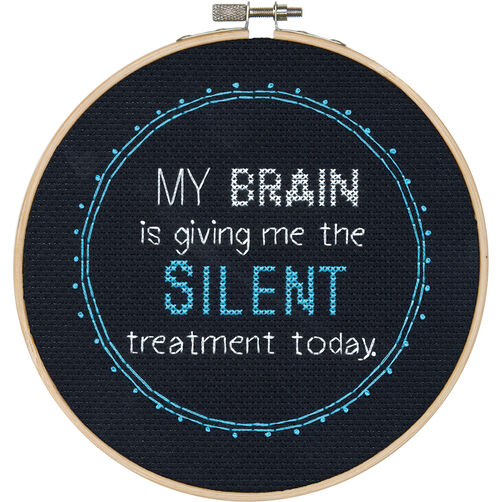 Silent Treatment, Counted Cross Stitch_70-74632