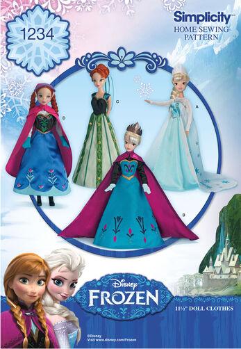 """Disney's Frozen 11 1/2"""" Doll Clothes"""