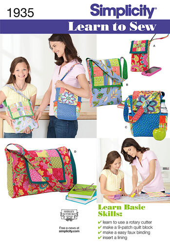 Learn to Sew Bags