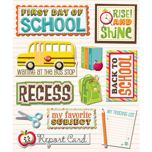 1st Day of School Sticker Medley_30-586697