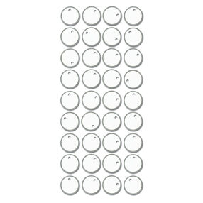 Tag Adhesive Silver Tags_SPTAG01