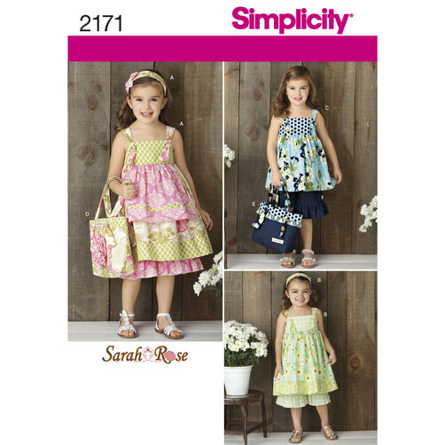 Simplicity Pattern 2171 Child's Sportswear