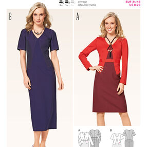 Burda Style Pattern B6690 Misses' Dress