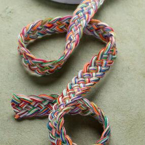 "3 ft. of 3/8"" Multi Color Braid"