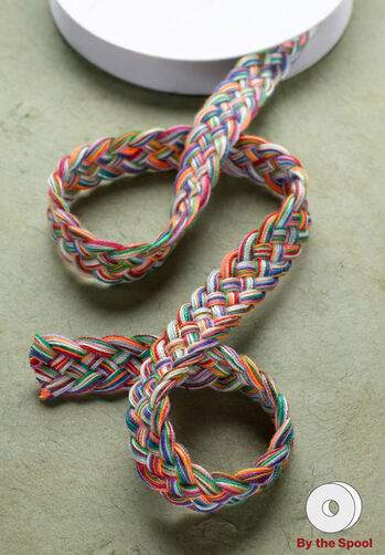 "3 ft. of 3/8"" Multi Color Braid"
