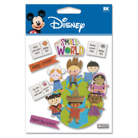 It's A Small World Dimensional Stickers_DJBV03