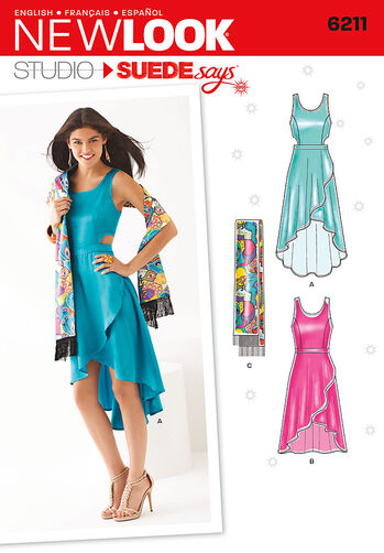 Misses' Dress in Two Lengths