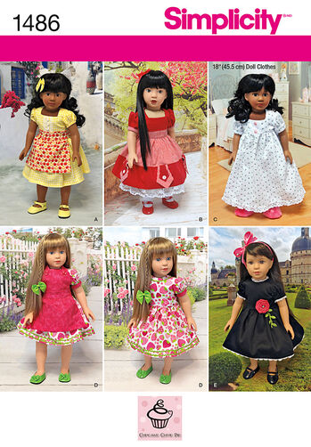 """Vintage Style 18"""" Doll Clothes"""
