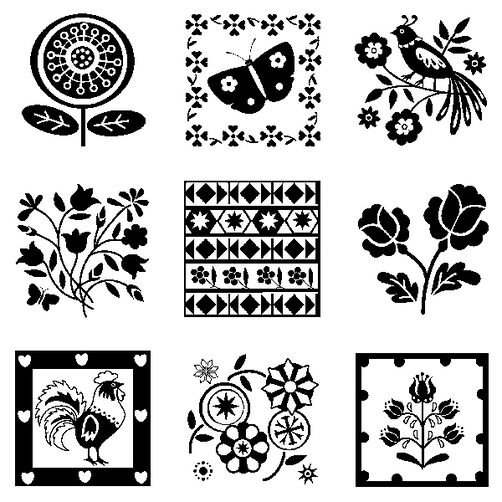 Folk Patterns Inchies Bundle_60-30525