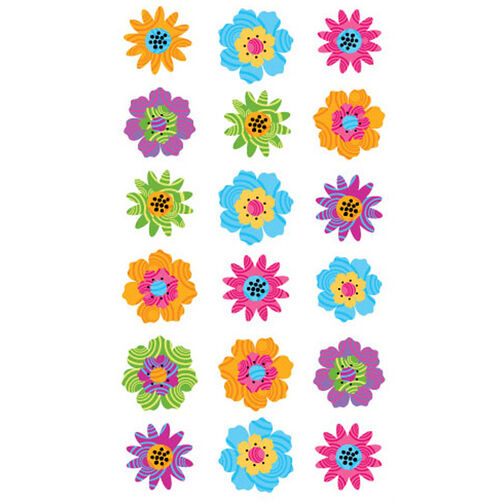 Power Flowers stickers _52-00807