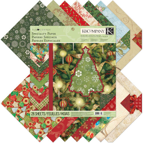 Tim Coffey Christmas Specialty Paper Pad_30-666740