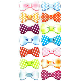 Patterned Bow Stickers_52-00199