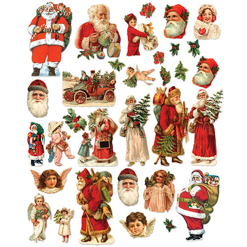 Christmas Cheer Holiday Die Cut Cardstock_30-675636