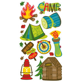 Camping Fun Stickers_52-00122