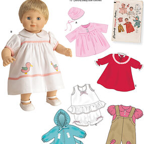 "1950's Vintage 15"" Baby Doll Clothes"