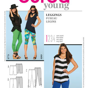 Burda Style Pattern 7382 Leggings