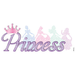 Princess Glitter Dimensional Stickers_51-60006