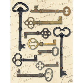 Life's Journey Keys Metal Art_565227
