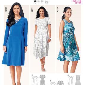 Burda Style Pattern 6821 Dresses