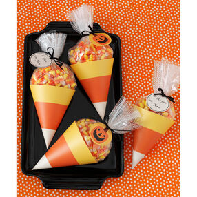 Animal Masquerade Candy Corn Treat Bags_48-20249