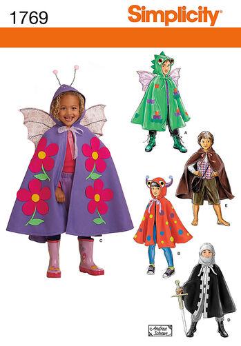 Child's Cape Costumes