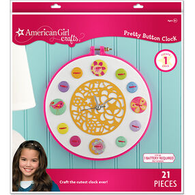 Pretty Button Clock_30-669727