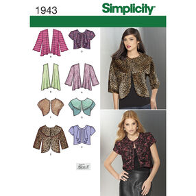 Simplicity Pattern 1943 Misses' Jackets