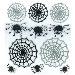 Cute Spiders And Webs Stickers_50-20498